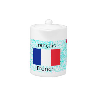 France Flag And French Language Design