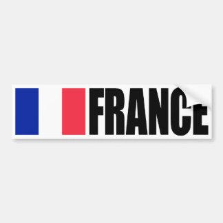 France Flag Bumper Sticker