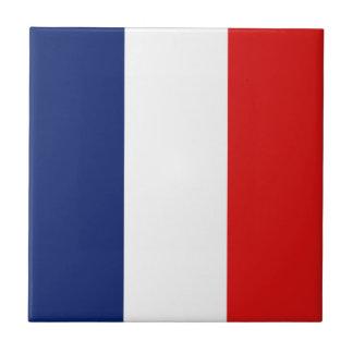 France Flag Ceramic Tile