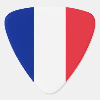 France Flag Guitar Pick