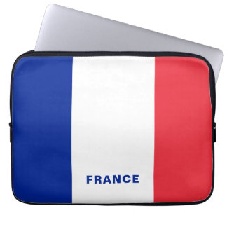 France Flag Laptop Sleeve
