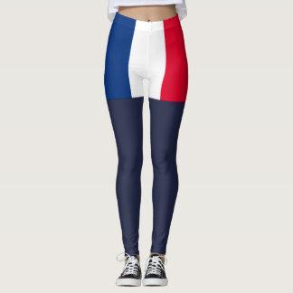 France flag leggings