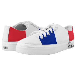 France Flag Low Tops