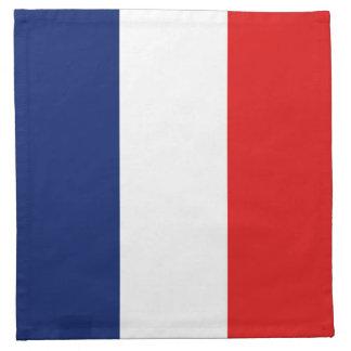 France Flag Napkin