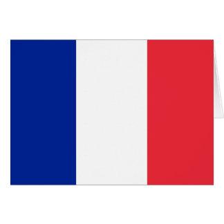 France Flag Note Card