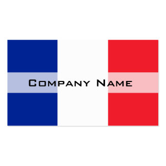 France Flag Pack Of Standard Business Cards