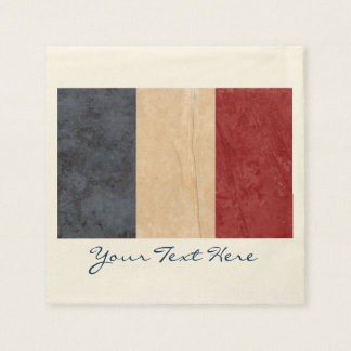 France Flag Party Napkins Disposable Napkin