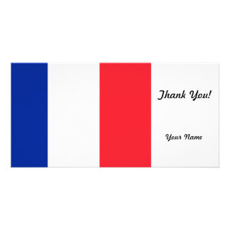 France Flag Photo Greeting Card