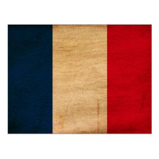 France Flag Postcard