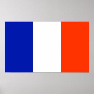 france flag poster