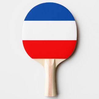 France flag quality ping pong paddle