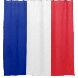 France Flag Shower Curtain