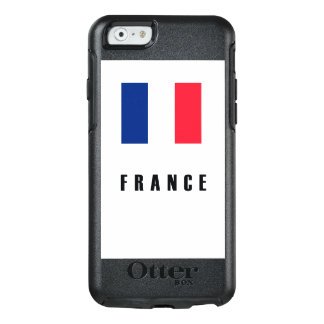 France Flag Simple Dark OtterBox iPhone 6/6s Case