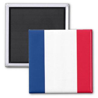France Flag Square Magnet