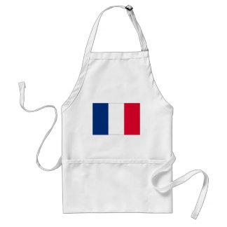 France flag standard apron
