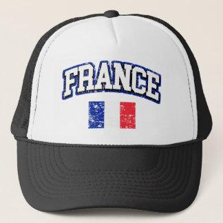 France Flag Trucker Hat