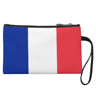 France Flag Wristlets Wallet