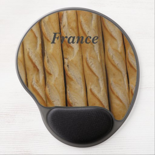 France - French Bread Gel Mouse Mat