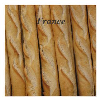 France - French Bread Custom Invitations