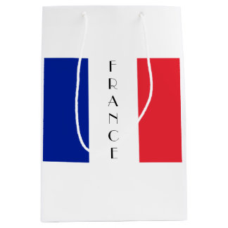 France, French Flag Gift Bag