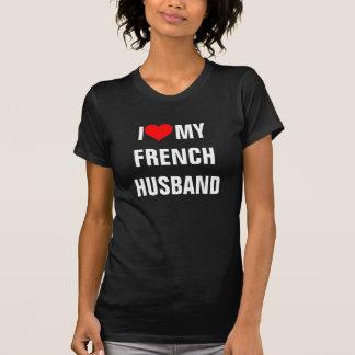 "France: ""I Love my French husband""t-shirt T-Shirt"