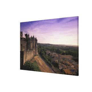 FRANCE, Languedoc Carcassonne Gallery Wrapped Canvas