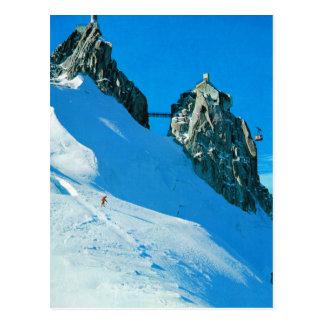 France, Le chain de Mt Blanc Postcard