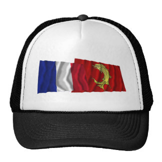 France Loire waving flags Hat