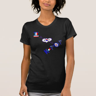 France Love K POP T-Shirt