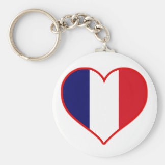 France Love Key Ring