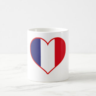 France Love Coffee Mugs