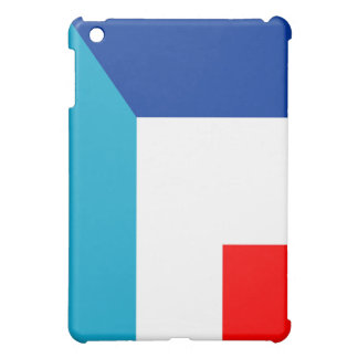 france luxembourg flag country half symbol iPad mini cover