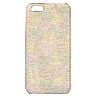 France Map Case For iPhone 5C