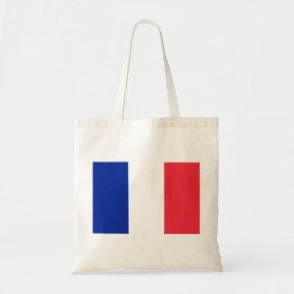 France National World Flag Tote Bag