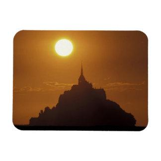 France, Normandy. Mont Saint Michele Rectangular Photo Magnet