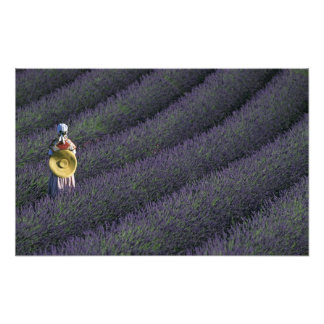 France, PACA, Alpes de Haute Provence, Woman Art Photo