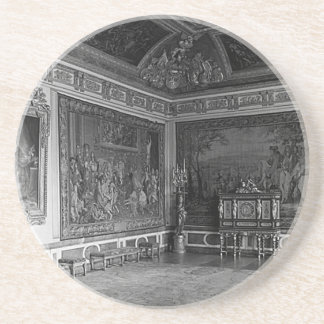 France palace Versailles stade dining room 1970 Drink Coaster