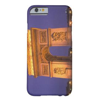 France, Paris, Arc de Triomphe at dusk. Barely There iPhone 6 Case