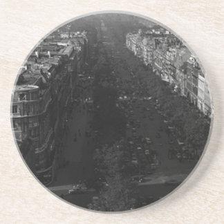 France Paris champs elysees avenue 1970 Coaster