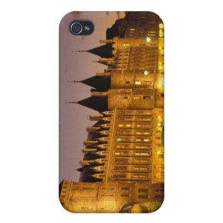 France, Paris, Conciergerie and river Seine at iPhone 4 Cases