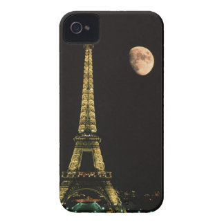 France, Paris. Eiffel Tower at night with Case-Mate iPhone 4 Case