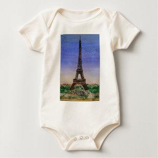 france-paris-eiffel-tower-clothes baby bodysuit