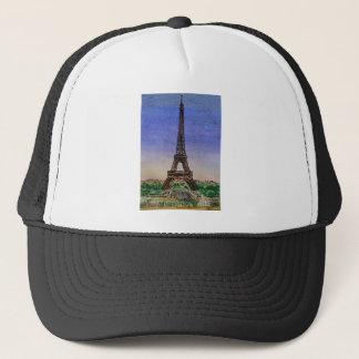 france-paris-eiffel-tower-clothes trucker hat