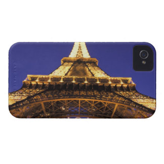 FRANCE, Paris Eiffel Tower, evening view iPhone 4 Covers