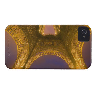 France, Paris. Eiffel Tower illuminated at 2 iPhone 4 Cover