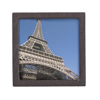 France, Paris, Eiffel Tower, low angle view Premium Keepsake Box