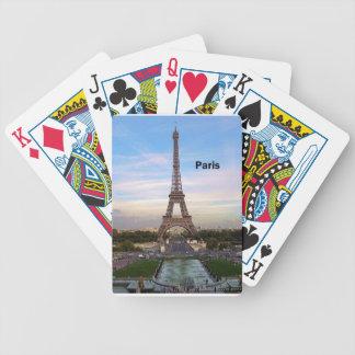 France Paris Eiffel  tower (new) (St.K) Poker Deck