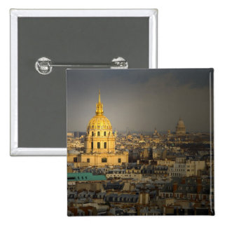 France, Paris. Les Invalides seen from the 15 Cm Square Badge
