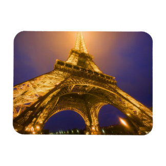 France, Paris. Looking up from base of Eiffel Rectangular Photo Magnet