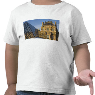France, Paris, Louvre Museum and the Pyramid, T Shirt